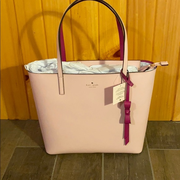 kate spade Handbags - New with tags Kate Spade Lawton way in tutu pink